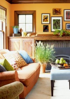 New Home Interior Design: Decorating Gallery: Living  Family Rooms
