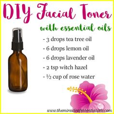 Face toning is something many people don't do in their skin care routines. It's not essential for everyone but if you have oily/acne prone skin or large pores, then toning your skin will improve it a lot. Facial toning uses astringents to tighten & shrink pores, firm skin and remove excess oiliness. Many essential oils …