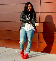 Cute laid back style Black Women Fashion, Girl Fashion, Fashion Outfits, Womens Fashion, Curvy Fashion, Fashion Ideas, Fashion Trends, Fall Winter Outfits, Autumn Winter Fashion
