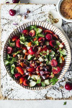 Grillwetter! Rezept für einen raffinierten Tomaten Gurken Salat