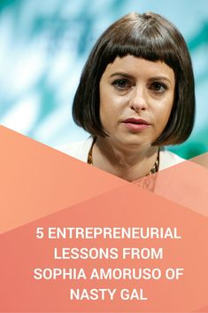 A lot of her experiences as a budding entrepreneur hit close to home for me and I'm sure you will find a little bit of yourself in her and these 7 entrepreneurial lessons you can learn from Sophia Amoruso. www.eazl.co