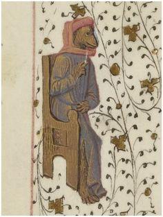 Scholar lecturing: Bibliothèque nationale de France, Département des manuscrits, Français 1654 - http://gallica.bnf.fr/ark:/12148/btv1b85100277/f90.item