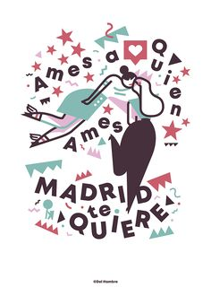 Madrid Gay Pride 2018. Illustration work for Madrid City Council  by Del Hambre  www.delhambre.com