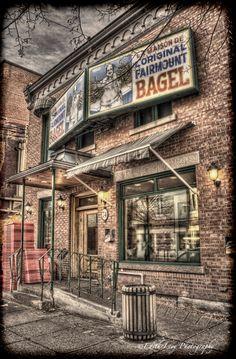 Fairmount Bagel іs а Montreal-style bagel bakery іn Montreal, Quebec, Canada. Іt іs located оn Fairmount Avenue іn the Mile End neighbourhood оf the Plateau-Mont-Royal borough.
