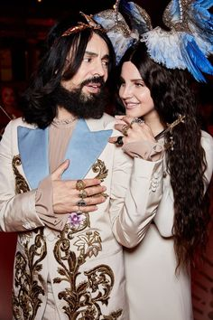 Lana Del Rey and Alessandro Michele at Met Gala 2018 #LDR