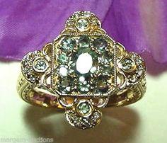 antique alexandrite ring