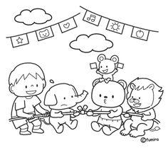 動物たちのつなひきイラスト(ぬりえ) Memory Album, Kindergarten Teachers, Watercolor Illustration, Snoopy, Memories, Illustrations, Fictional Characters, Souvenirs, Watercolour Illustration
