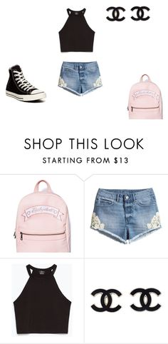 """""""Untitled #223"""" by moonlightprincess93 on Polyvore featuring H&M, Zara and Converse"""