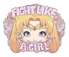 #FightLikeAGirl Sailor Moon