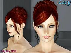 Sims 3 hair, hairstyle, female, sims3, sims 3. Try