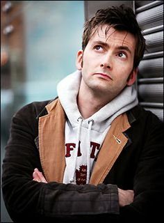 David Tennant. Sorry if perfectly adorable is the only description that comes to mind for him