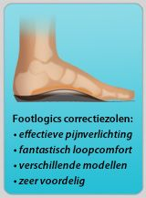 Footlogics correctiezolen