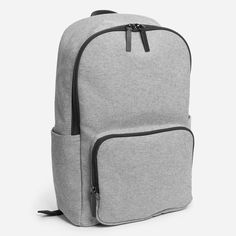 A throwback to the simplest of backpacks, this update brings modern features to…