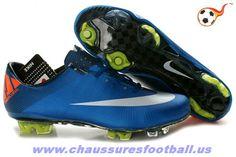 cheap for discount 30466 f62cf Nike Mercurial Vapor Superfly III FG Bleu Blanc FT9836
