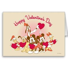 happy valentines day card print