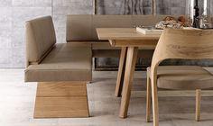 V-Montana – Speisezimmer Naturholzmöbel in Spaltholzdesign
