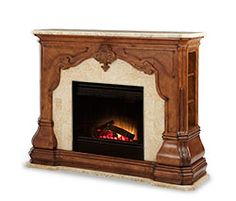 Pleasant Hearth Grayson Electric Fireplace | Living room ...