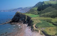 Zumaia at the Basque coast, northern Spain, is located at a geological interesting site. The coastal strip  Deba--Zumaia is declared as protected biotope. It is a geoparc because of the gelogical formation called flysch.