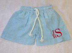 Boys Swimsuit Boys swim trunks Monogrammed by BabyGraceHouston