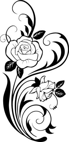 Roses Vinyl Decal Cut from high-quality outdoor, self-adhesive vinyl. Can be applied to any clean, flat surface, such as walls, tumblers, water bottles, car windows, laptops, iPads, binders, notebooks