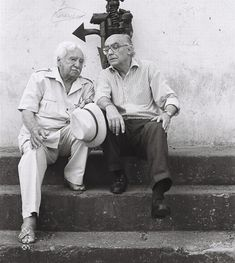 Jorge Amado and José Saramago.