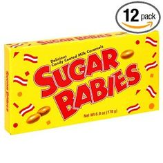 Sugar Babies, 6-Ounce Packages (Pack of 12) $13.76