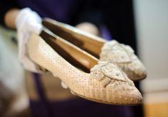 Princess Diana Wedding Shoes | Princess Diana's wedding shoes join Audrey Hepburn's Oscar dress at ...