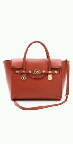 e60988299be2 VERSACE Terra Cotta Handbag Cheap Handbags
