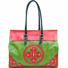 Fashion oversized tote bag w/ clover design rhinestone accents at the Shopping Mall, $49.49 (USD)