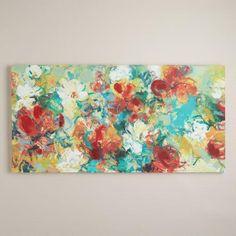 """""""Abstract Garden"""" by Elinor Luna   World Market"""
