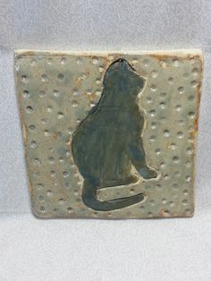 "Samuel Turner - ""Buddy""  Ceramic Tile"