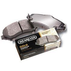 Wearever Gold Semi-Metallic Brake Pads - Front (4-Pad Set) GMKD477: Purchase the best at Advance Auto Parts