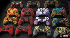SCUF Infinity Series Designer Collection offers custom controllers for Xbox One and PlayStation. Each controller is fully-loaded with innovations and patented technology that makes SCUF the choice for over 90% for all Pro Gamers.