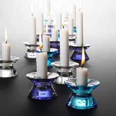 Candle holder, radiant orchid and other colours, Rosendahl | desiary.de - identity store