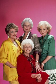 the golden girls - Google Search. The Girls! Last of the saturday night reign of tv sitcoms. Now it is a night where shows go to die. Smart comedy about older women making through life in Florida. I loved this show and it is even more popular in reruns. Which golden girl are you? I never figured that one out.