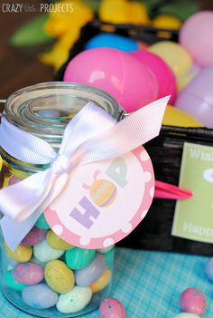 Cute printable Easter Tags: 4 Designs to Choose from! Perfect for Easter baskets or treat bags