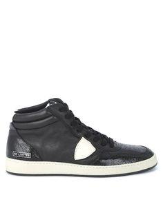 PHILIPPE MODEL Hightop Sneaker Lakers - schwarz  Jetzt auf kleidoo.de bestellen!  #kleidoo #fashion #trend #philippemodel #sneaker #shoes #black #hightop