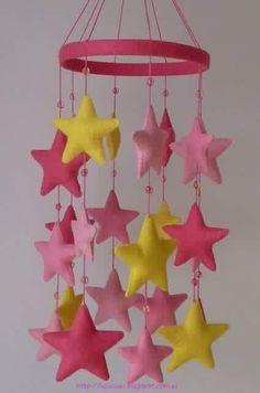 Móbile estrelas