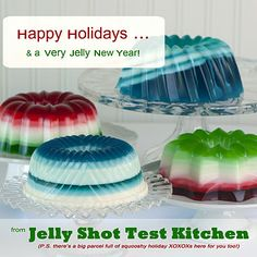 When I was little I ran across a pamphlet from the 50's featuring all the ways to use jello.  I loved it and vowed to display jello as part of my everyday life.  This is the 21 century version of that pamphlet.