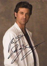『グレイス・アナトミー』ではドクターデレク役を演じたパトリック・デンプシー。白衣姿もかっこいい♡