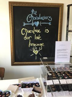 Chocolate is our love language