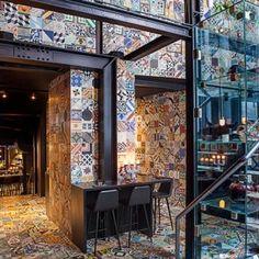 BIG and Kilo Design transform Copenhagen  basement into tiled South American restaurant