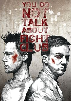 fuckyeahmovieposters:    Fight Club by Glenn Pickersgill