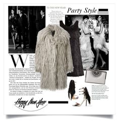 """""""Happy New Year to all!!♥"""" by cruzeirodotejo ❤ liked on Polyvore featuring ALEXA WAGNER, Lagerfeld, Inge Christopher, Julien David, Lanvin, newyear and newyearstyle"""