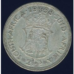 1958 Half Crown coin, South Africa, Silver, Elizabethh II , No reserve for Old Coins Value, English Coins, Old Symbols, Afrikaans Quotes, Coin Values, Old Money, World Coins, African Animals, My Childhood Memories