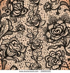 Abstract seamless lace pattern - Buscar con Google