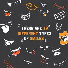 THE SMALLEST DIFFERENCES IN A SMILE can completely change its meaning! Body language experts say there are 19 (or more) different kinds!