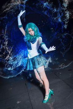 Sailor Moon - Aque McAvoy(阿雀) Sailor Neptune Cosplay Photo - Cure WorldCosplay