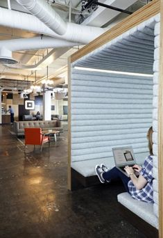 Kind of cool as a creative office space as well! (by Sara Metzger)