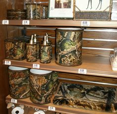 Realtree Camo Bath Accessories. | Camo Home Decor | Camo Home Decor ...